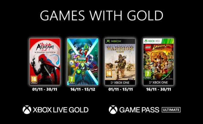 Gamepass novembre 2020
