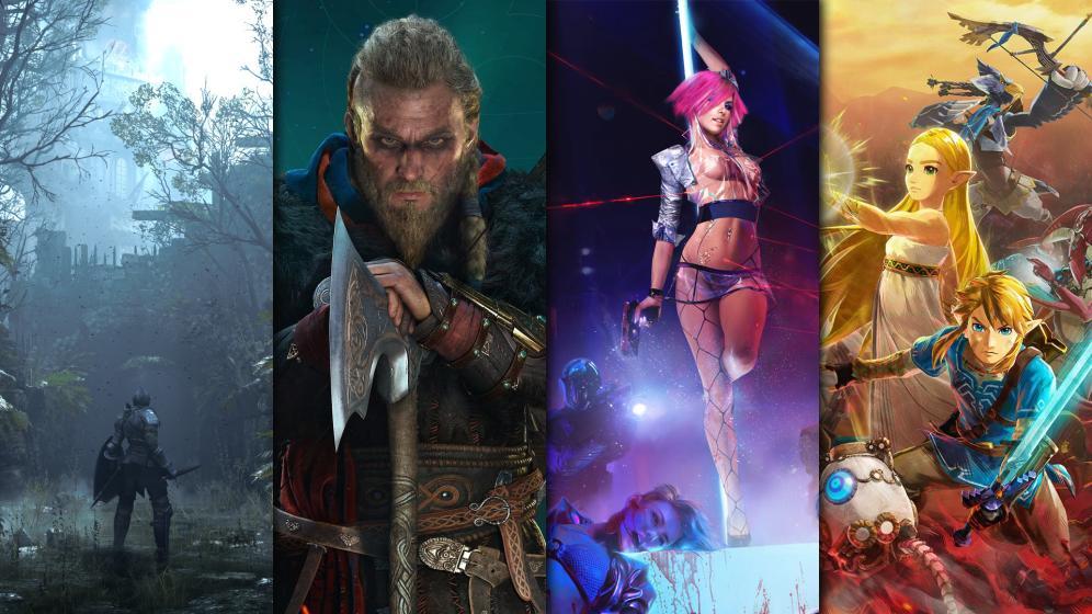 Sorties jeux video du mois de novembre 2020