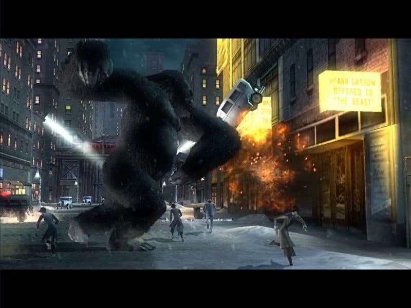 King Kong se dechaîne dans la ville de New York