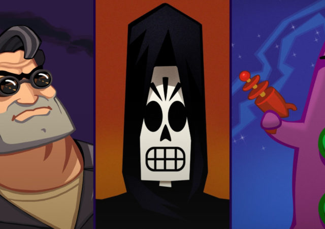 Day of the Tentacle, Full Throttle et Grim Fandango remastered