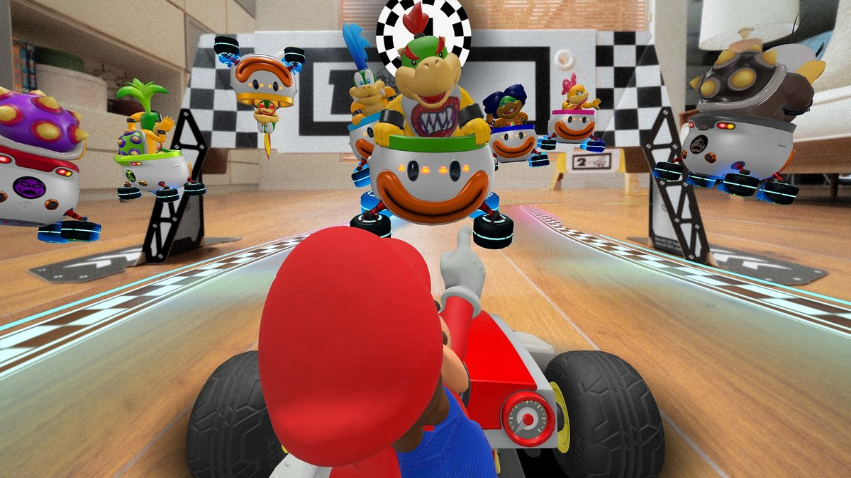 Mario Kart Live: Home Circuit - En route