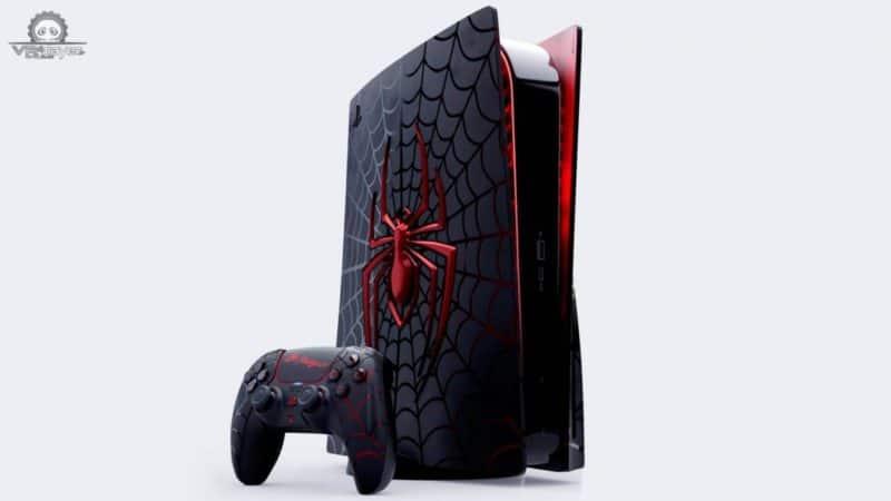Design PS5 Spider Man non officiel