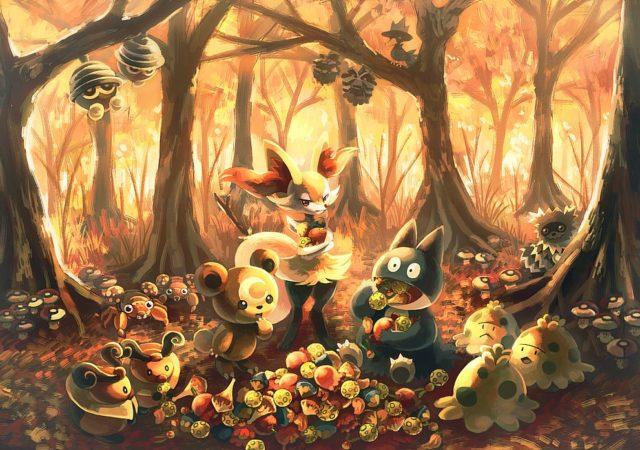 Pokémon GO - Automne art