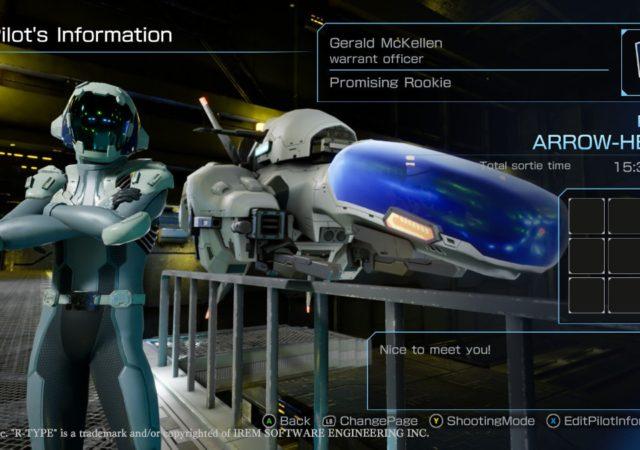 R-Type Final 2 pilote vaisseau