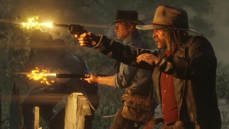 Red Dead Redemption 2 fusillades