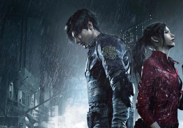 Resident Evil Claire Chris