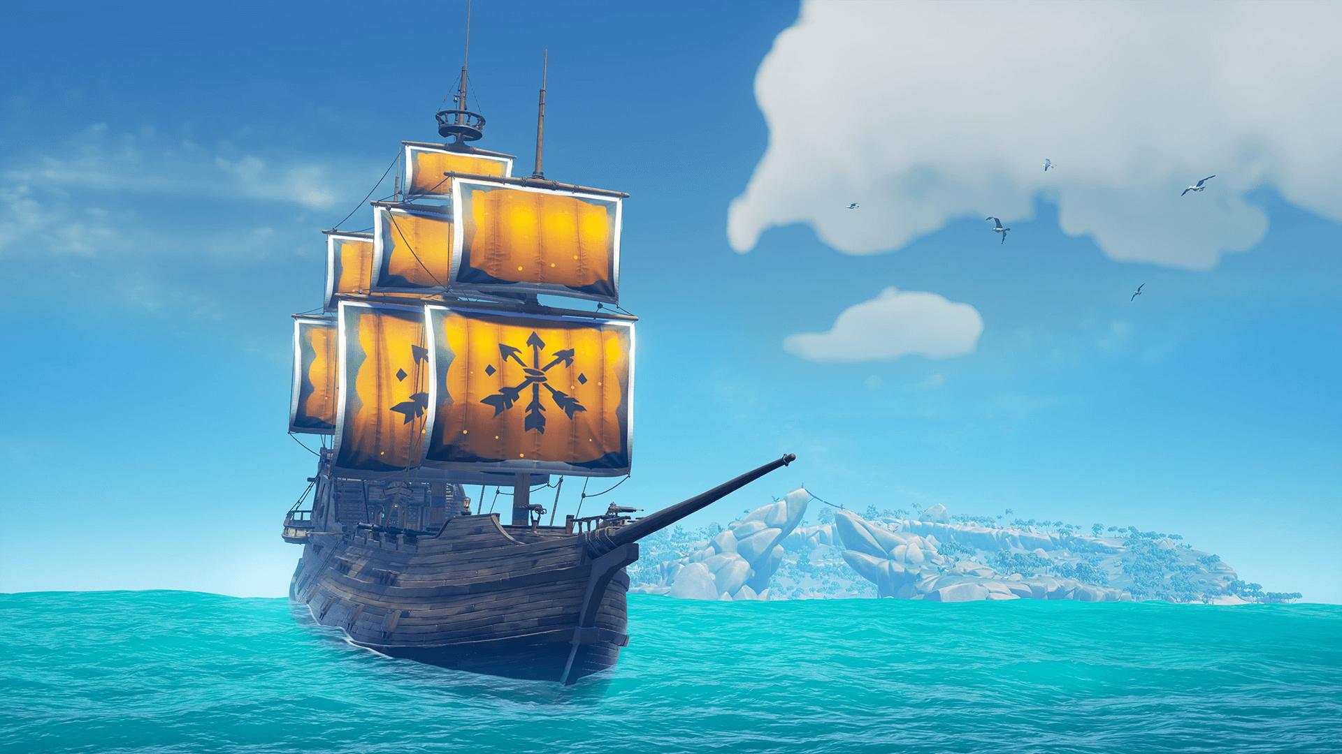Le DLC caritatif Voiles de l'Union pour Sea of Thieves