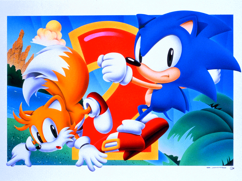 Sonic The Hedgehog 2 - Sonic and Tails