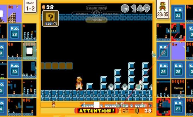 Super Mario Bros. 35 - Jauge pleine