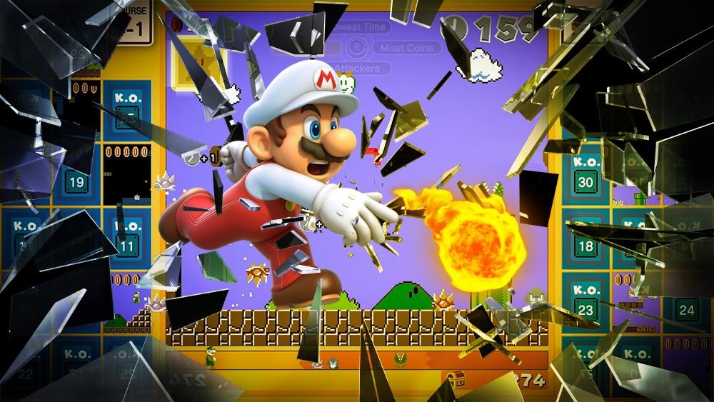 Super Mario Bros. 35 - Mario de feu