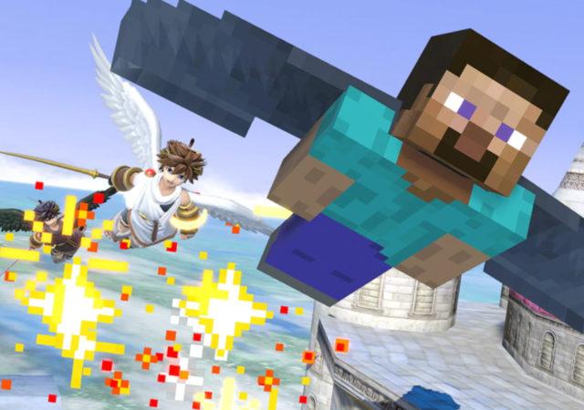 Super Smash Bros. Ultimate - Steve et Pit