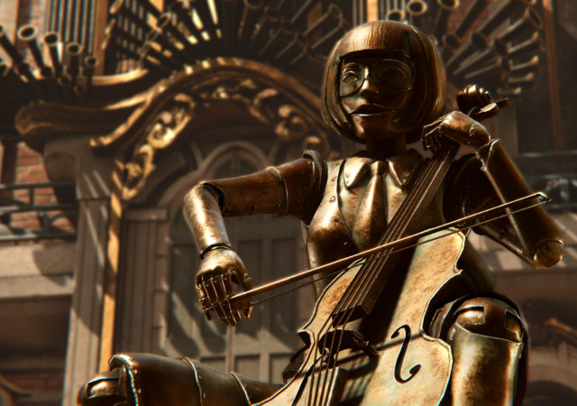 Syberia: The World Before - un automate musicien