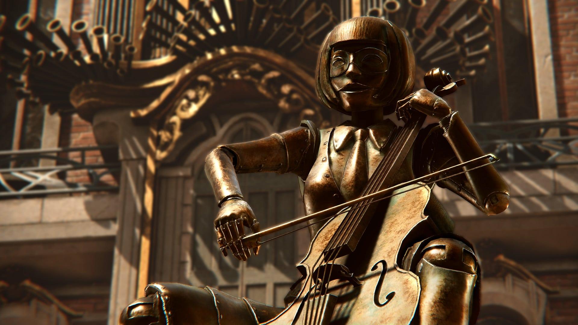 Syberia: The World Before - un automate musicien