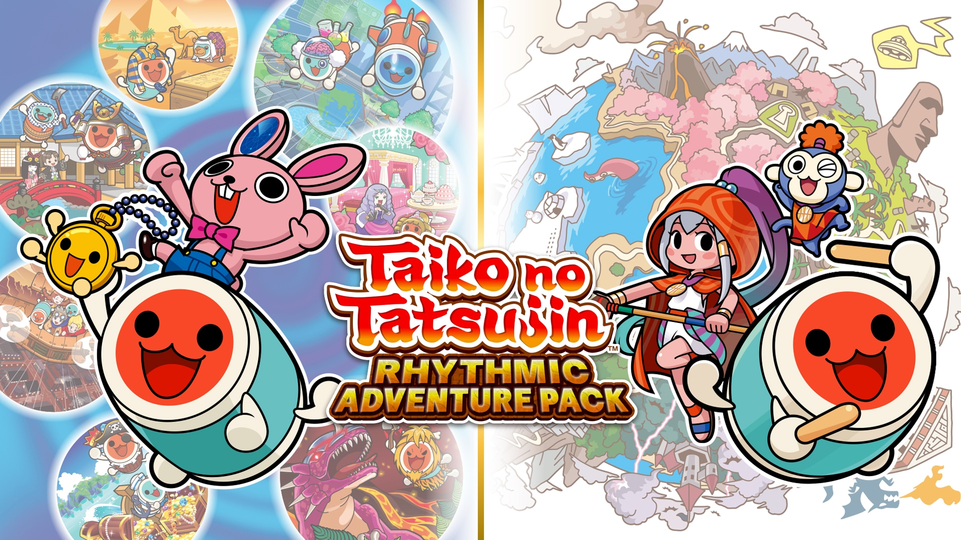 Taiko no Tatsujin: Rhythmic Adventure Pack - artwork