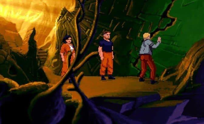 The Dig Exploration caverne