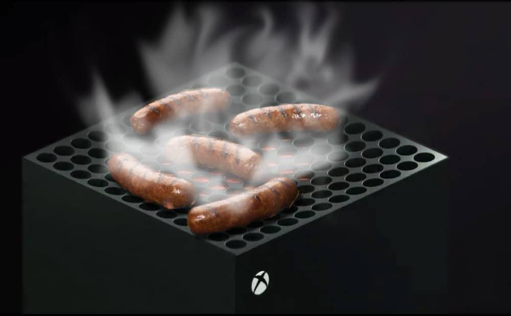 Xbox series X Surchauffe