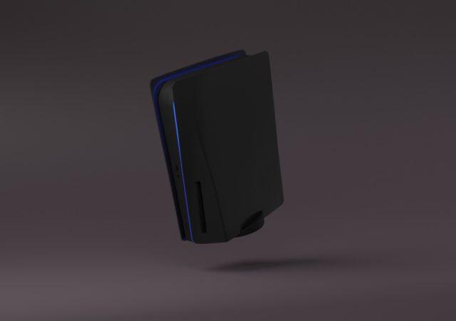 PS5 noir mat