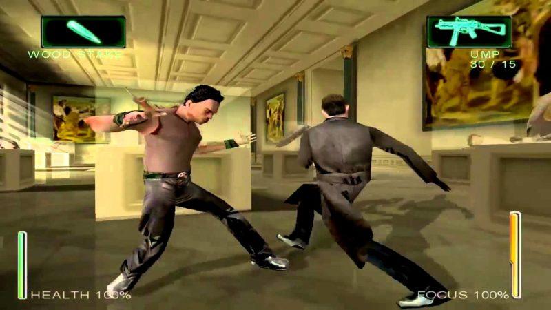 Enter the Matrix combat