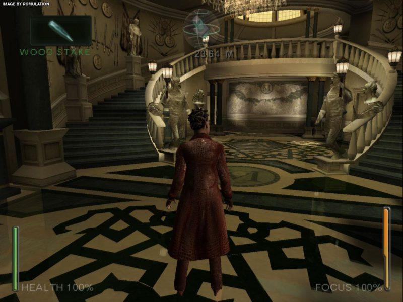 Enter The Matrix exploration chateau