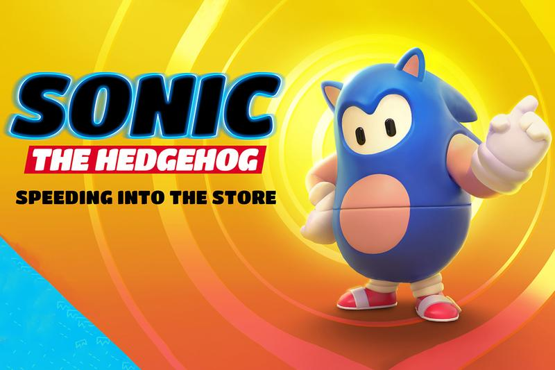 Sonic le hérisson en costume sur fall guys