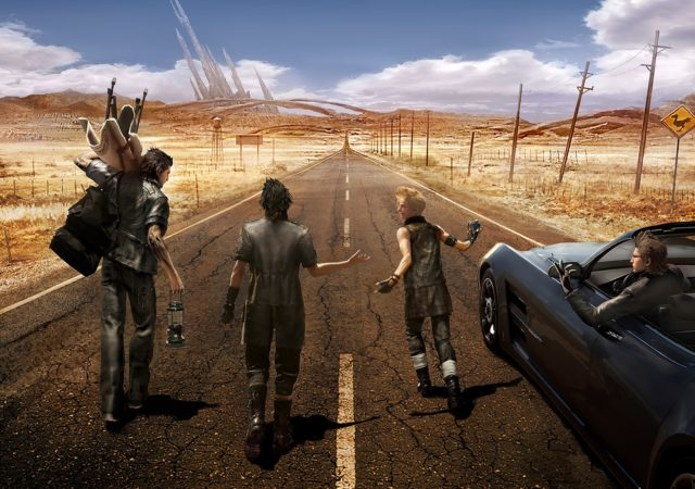 final fantasy XV - quatuor