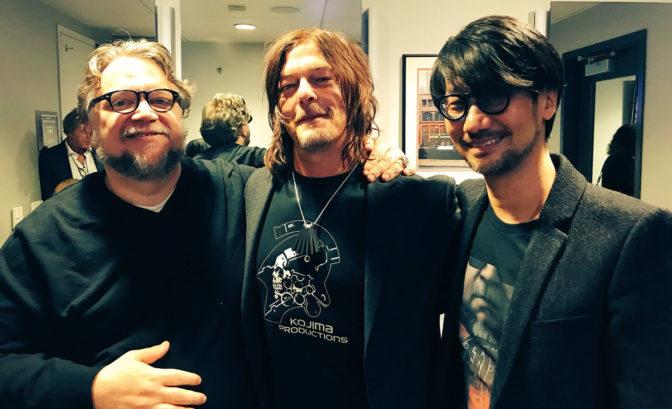 Guillermo Del Toro Norman Reedus et Hideo Kojima pour Death Stranding