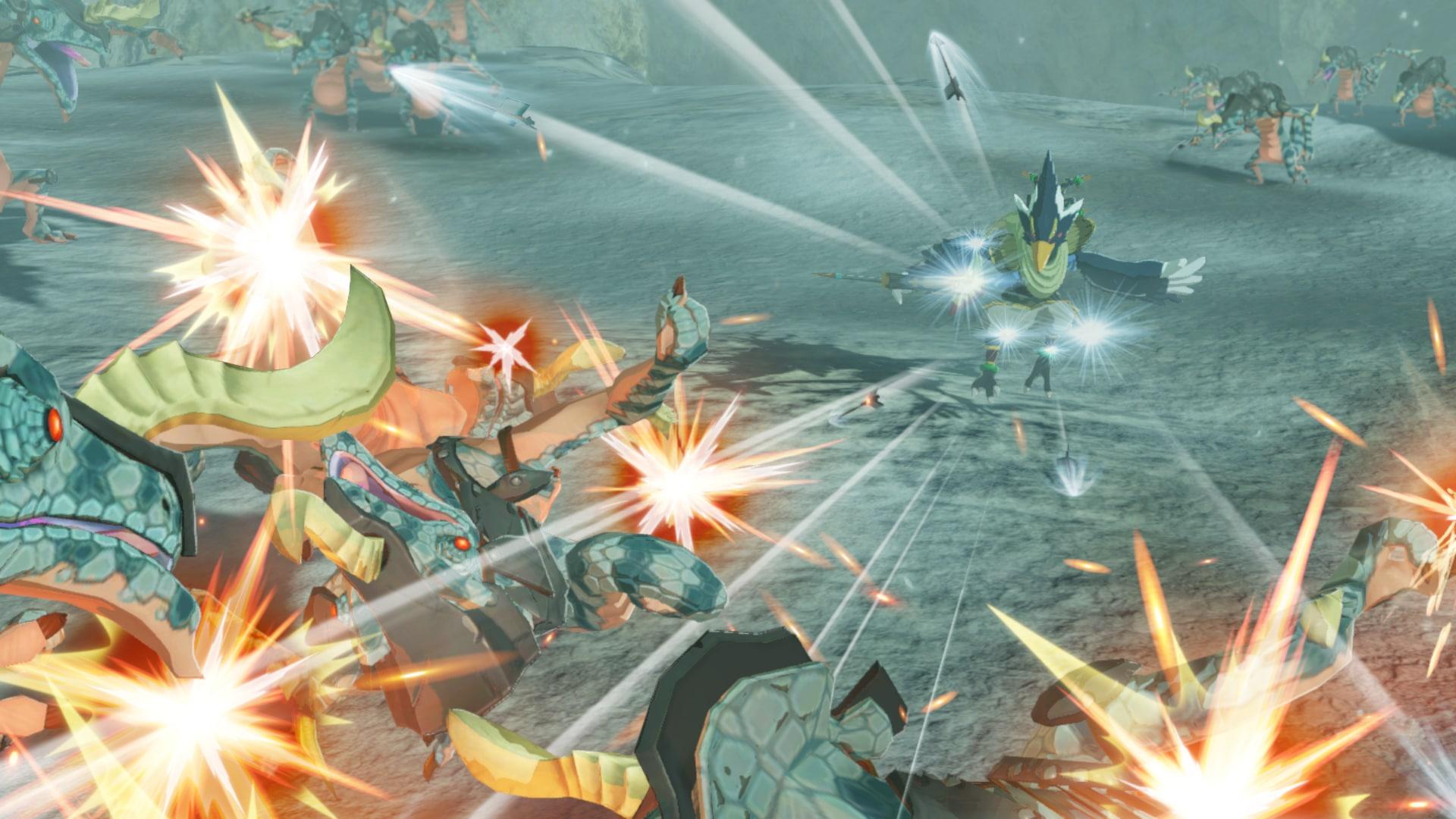 Hyrule Warriors : L'Ère du flèau se montre en images