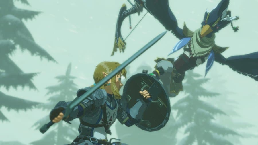 Gameplay du jeu Hyrule Warriors : L'Ère du Fléau