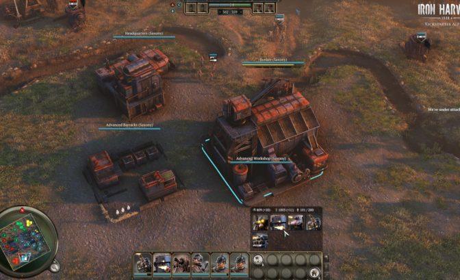Iron Harvest - Un camp simple