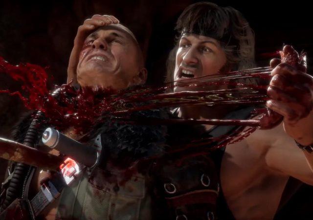 Mortal Kombat 11 DLC personnage Rambo
