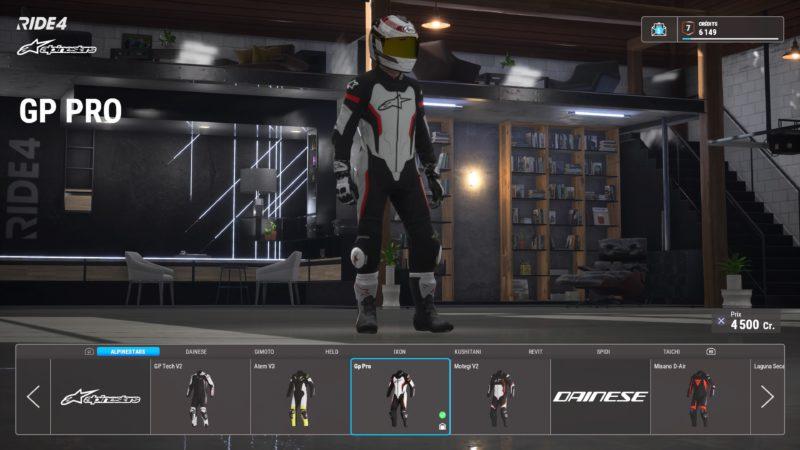test ride 4 - pilote
