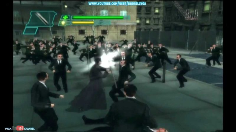 The Matrix Path of Neo combat contre plein de Johnson ?