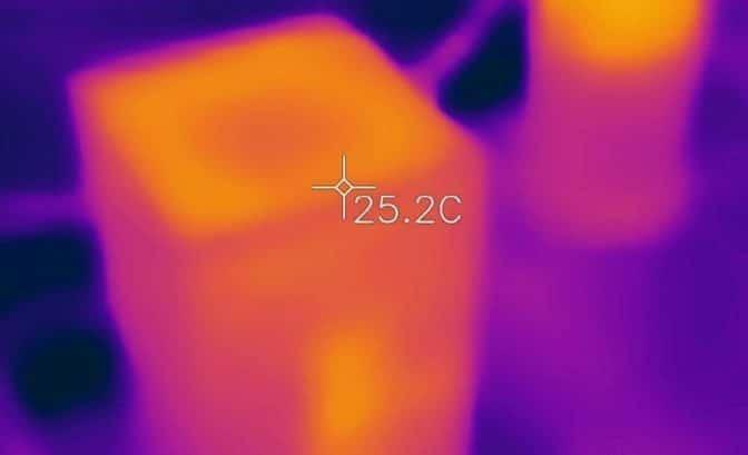 Xbox series x expérience température