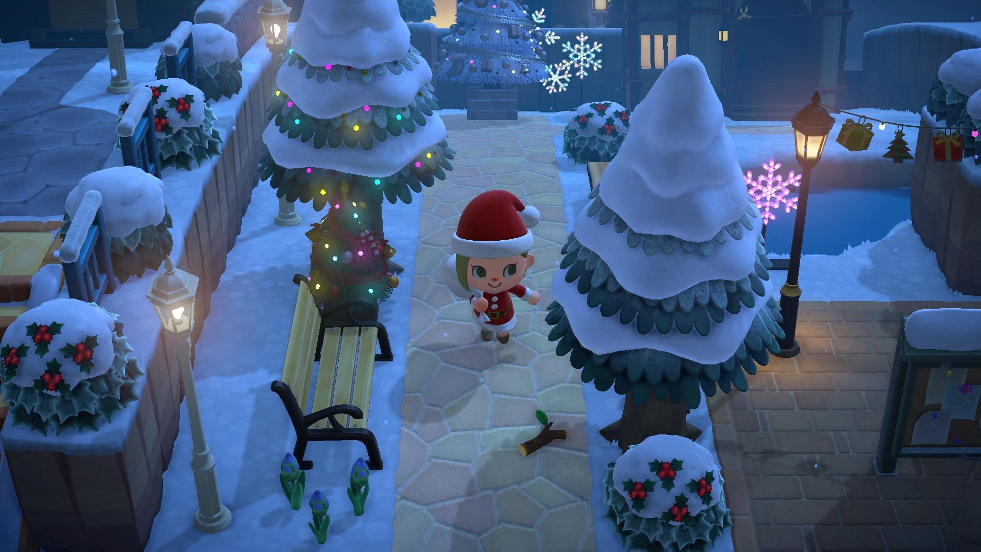 Animal Crossing: New Horizons - maj hiver