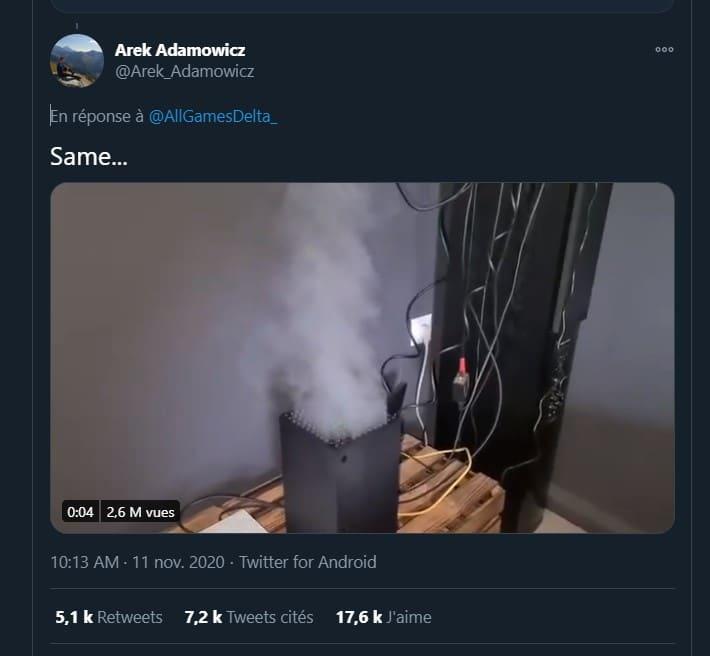 Xbox fake smoke