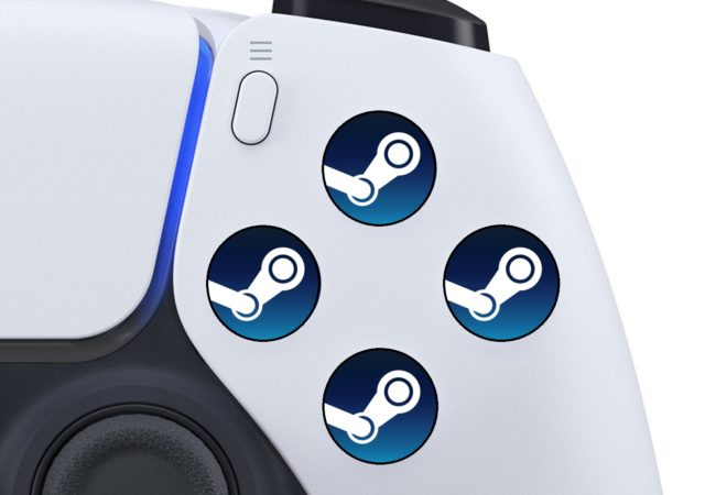 DualSense Steam Art