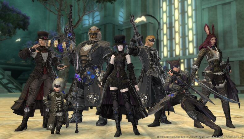 Final Fantasy XIV armures MAJ 5.4
