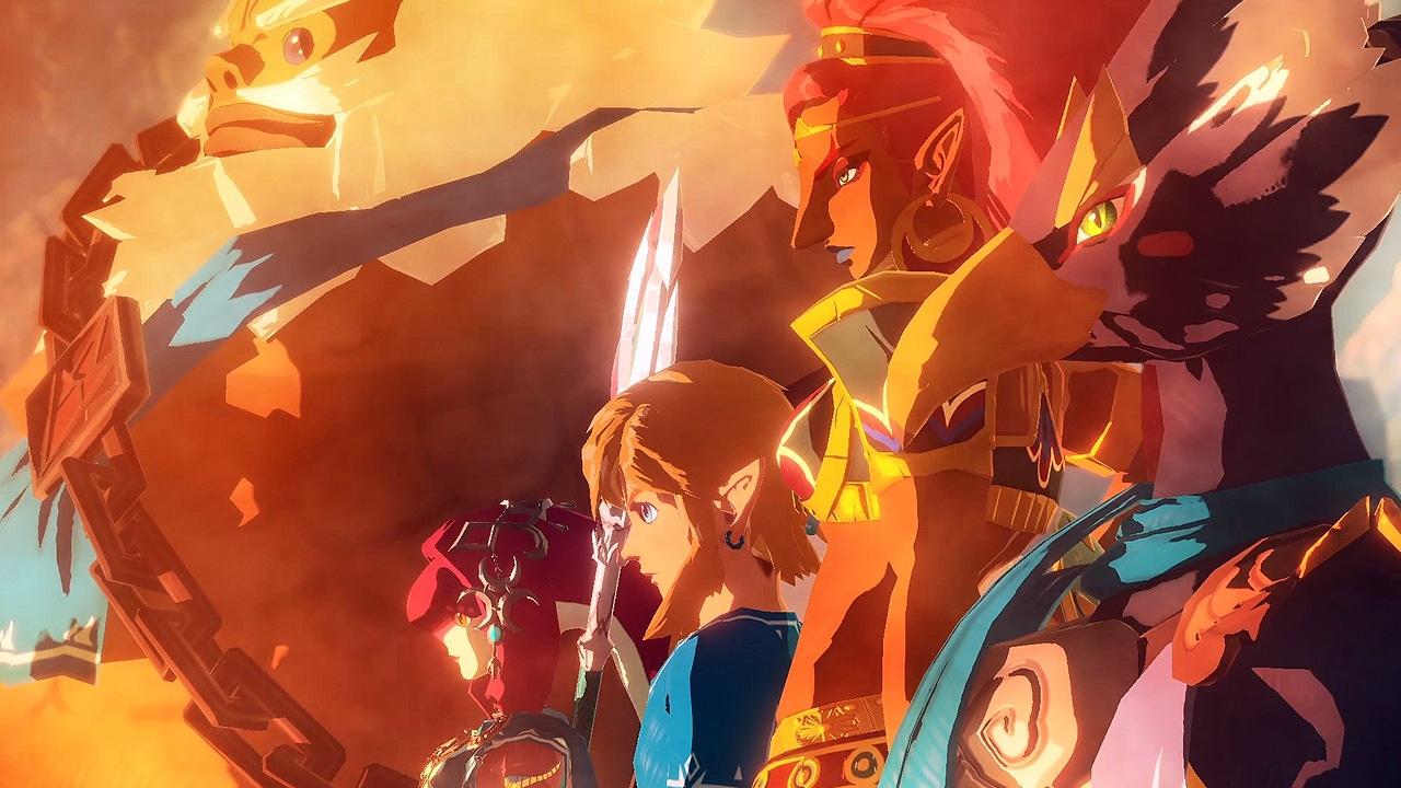 Hyrule Warriors : L'Ère du Fleau - Héros en feu