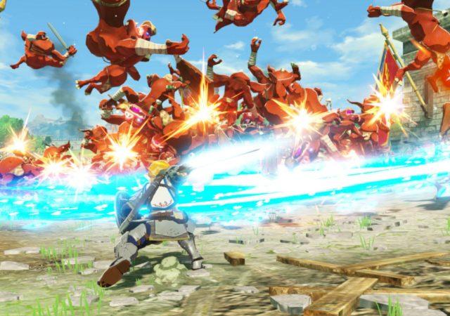 Hyrule Warriors : L'Ère du Fléau - Link tranche
