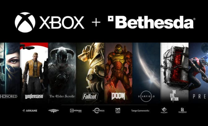 Microsoft - Xbox et Bethesda