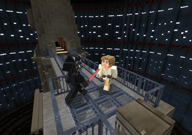 Minecraft et son DLC Star Wars