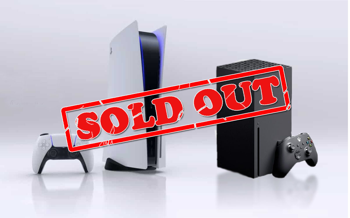 PS5 et Xbox Series Sold Out