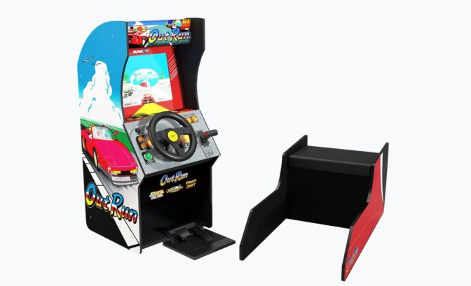 Outrun - la borne de Arcade 1UP