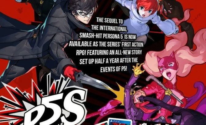 Persona 5 Scramble PS5