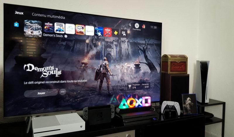 PS5 dans son environnement