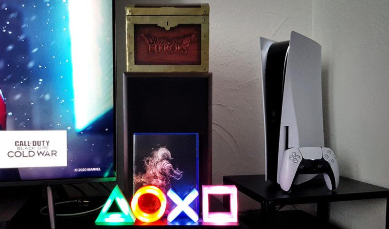 PS5 et dualsense