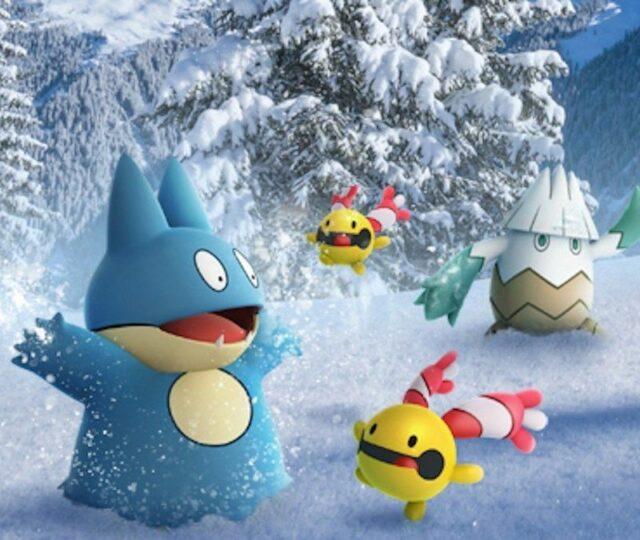 Pokémon GO - Neige et Pokémon
