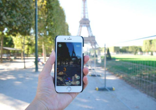 Pokémon GO - Paris