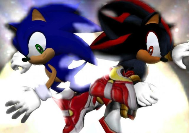 Sonic Adventure 2 - Sonic et Shadow