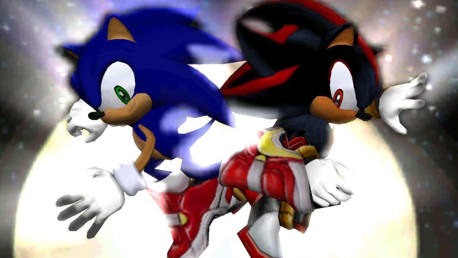 Sonic Adventure 2 - Sonic et Shadow